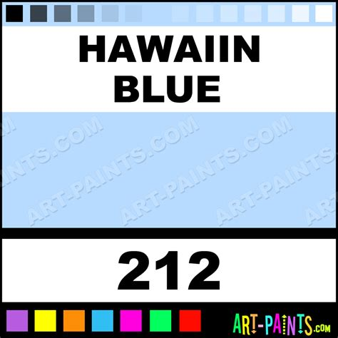 hawaiin blue synthetic enamel paints 212 hawaiin blue paint hawaiin blue color aksan