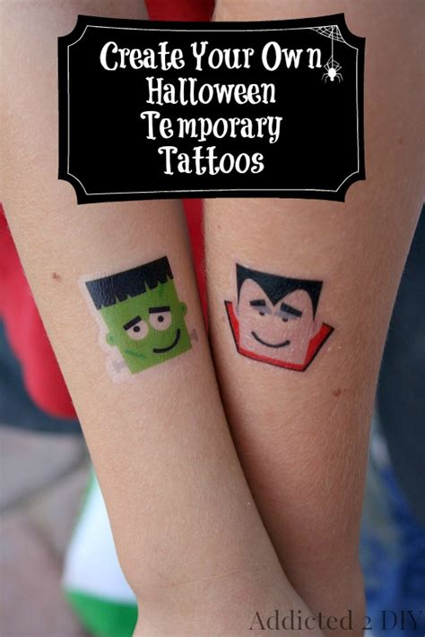 design own temporary tattoo addicted 2 diy eat sleep diy