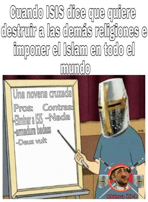 Deus Vult Memes - deus vult meme by kktua234 memedroid