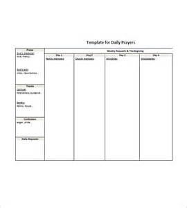 prayer list template prayer list template 8 free word excel pdf format