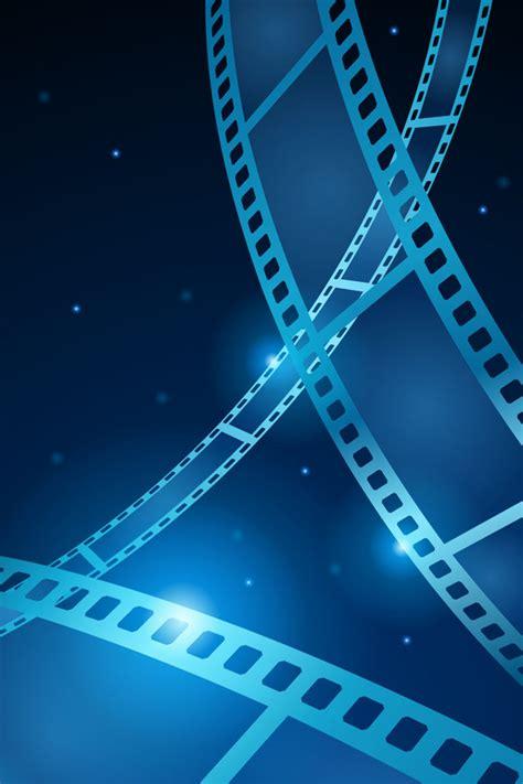 film blue wallpaper cinema reel film iphone 4 wallpaper 640x960