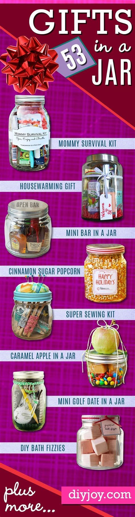 fun gifts ideas 53 coolest diy mason jar gifts other fun ideas in a jar