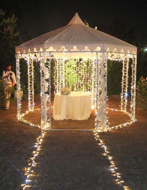 allestimento gazebo matrimonio allestimento luminoso di eventi wedding gazebo per taglio