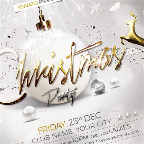 christmas party flyer templates amp psd designs free