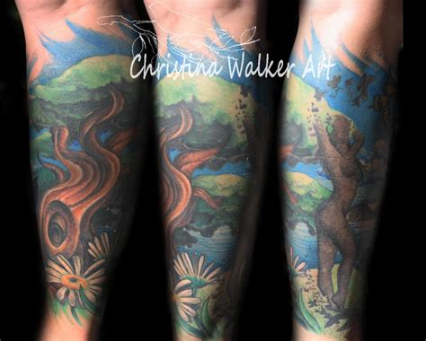 nature tattoo sleeve nature galerie tatouage