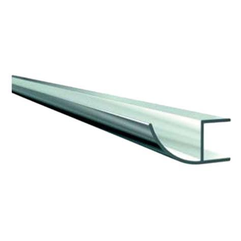 bauhaus dachrinne solid elements regenrinne l 228 nge 1 500 aluminium
