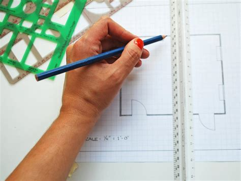 How To Draw A Floor Plan By Hand how to create a floor plan and furniture layout hgtv