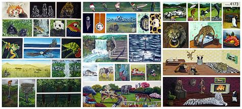 art design ncea level 3 ncea level 3 painting folio domestication of the wild