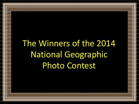 Winners Of The National Geographic Photographer Contest 2014 | the winners of the 2014 national geographic photo contest