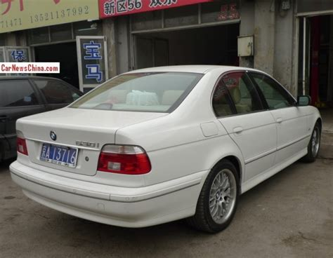 bmw in china spotted in china e39 bmw 530 in white carnewschina