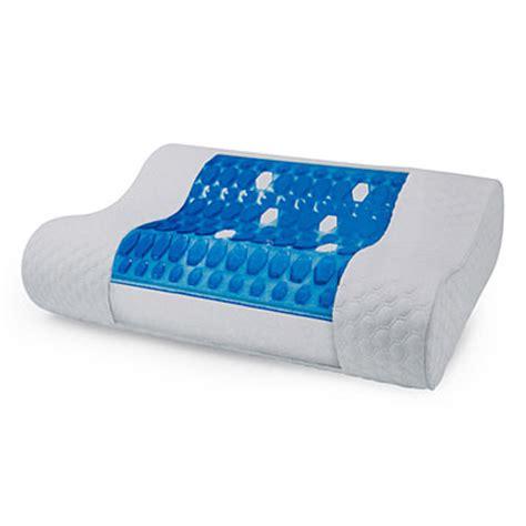 Gel Contour Pillow by Biopedic 174 Gel Top Contour Pillow Big Lots