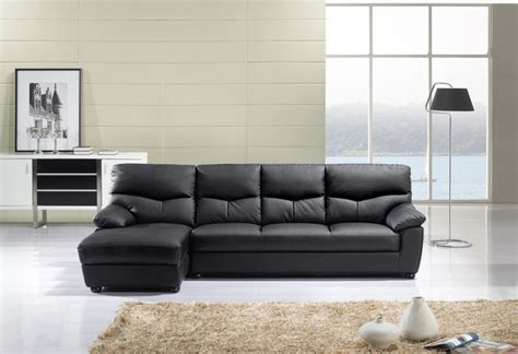 Leather Sectional Los Angeles by American Eagle Modern Black Leather Sectional Sofa Set