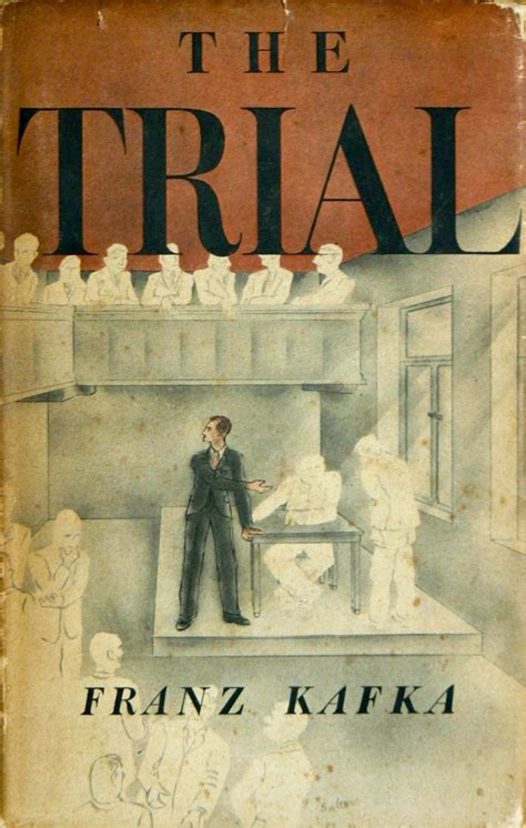 the trial of my books the trial by franz kafka american edition cover