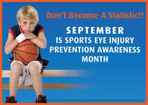Blindness Awareness Activities Prevent Sports Related Eye Injuries Advanced Eye Care Center