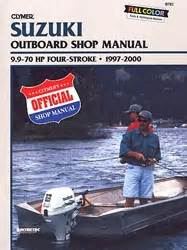Suzuki Outboard Manual Service Shop And Repair Manuals