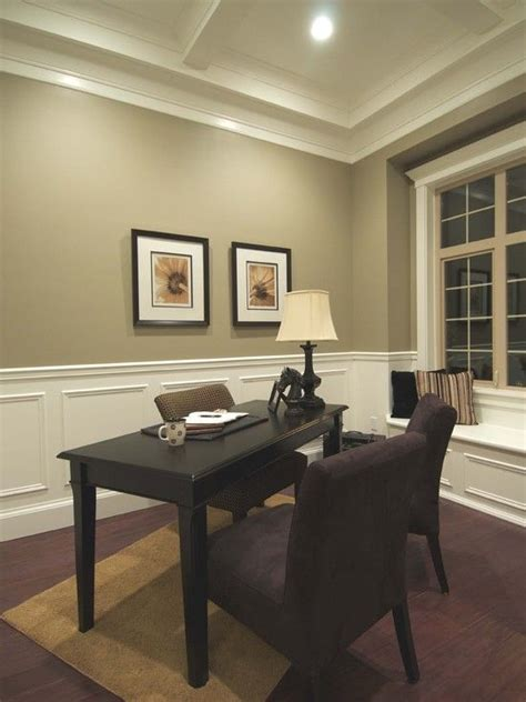 Wainscoting Office by White Wainscoting Office Home Decor Home