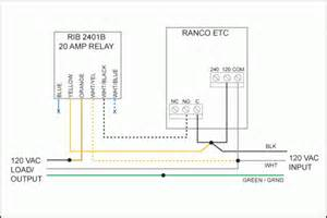 ranco etc rib 2401b 20 amp external relay modification anarchy
