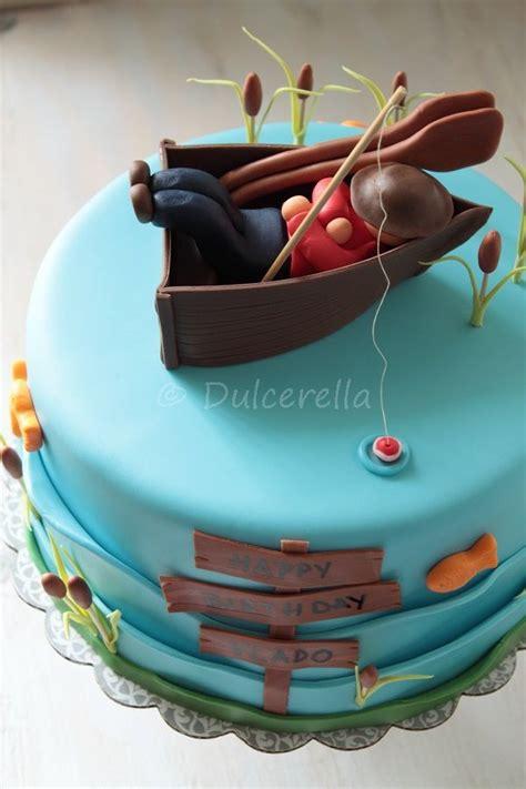 man in fishing boat cake topper 25 best ideas about fisherman cake on pinterest fishing