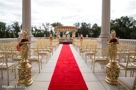 best indian wedding venues in new jersey somerset nj indian wedding by majestic events maharani weddings