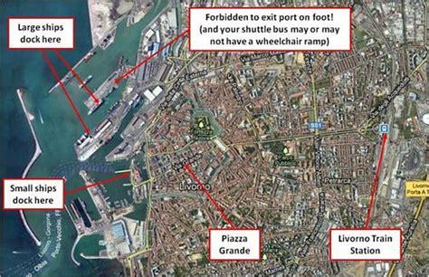cruise port livorno livorno cruise port disabled access
