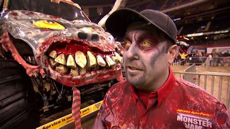 zombie monster truck videos monster jam zombie freestyle from new orleans feb 23