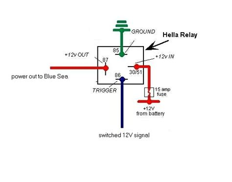 12v 30a relay wiring diagram wiring diagram and
