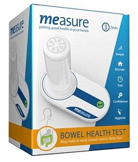 Home Stool Test Kit by Digital Test Kit For Bowel Cancer Available Through Pharmacies