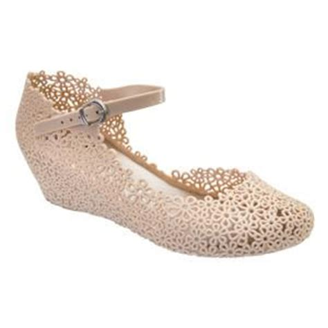 Jelly Wedges Only Creme wendy shoes accessories
