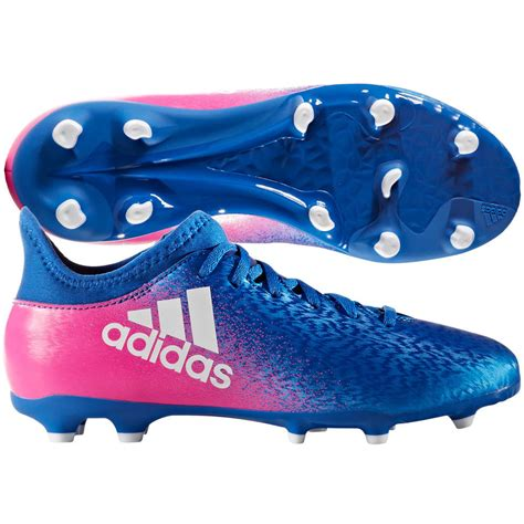 adidas   fg  soccer shoes cleats blue pink