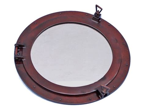 porthole mirror wholesale deluxe class antique copper porthole mirror 20
