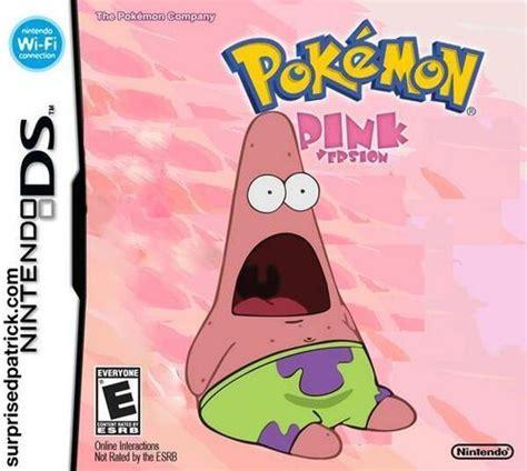 Patrick Spongebob Meme - image surprised patrick meme pokemon pink jpg the
