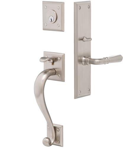 exterior door lock set coleman traditional lever exterior door set rejuvenation