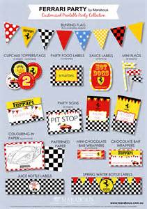 ferrari party on pinterest race party race car party
