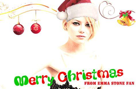 emma stone christmas emma stone fan december 2013