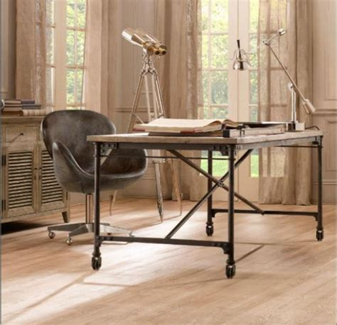 Rustic Desk For Your Office Industrial Home Office Desk