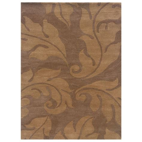 linon home decor rugs linon home decor florence collection beige and gold 1 ft