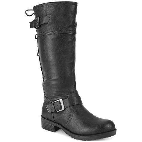 fergie boots fergie fergalicious shaft lace back boots in