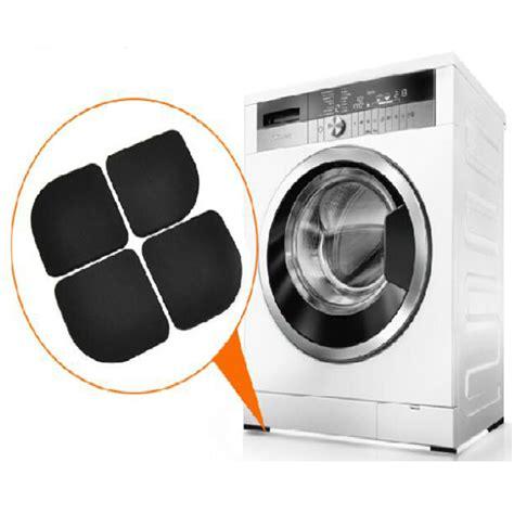 4pcs set black washing machine shock pads non slip mats