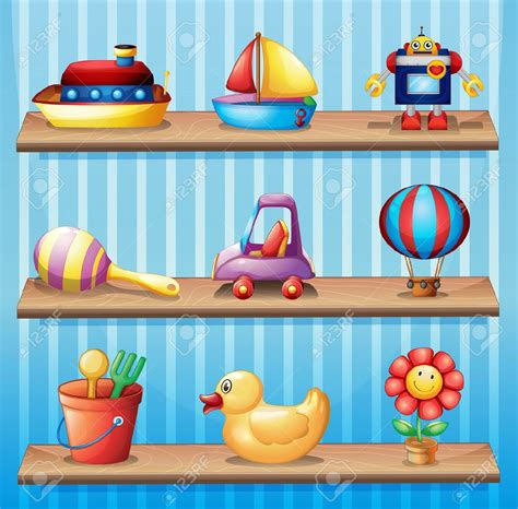 Toys On A Shelf by Shelf Clipart Search Literacy Prep