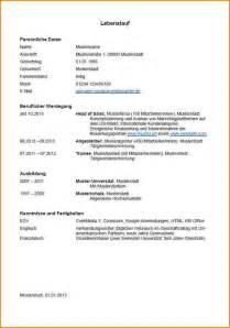 Tabellarischer Lebenslauf Vorlage 3 Tabellarischer Lebenslauf Vorlage Ausbildung Reimbursement Format