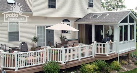 Sunroom On A Deck sunroom with deck ideas pictures