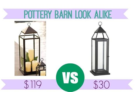 pottery barn look alike frugal look alikes pottery barn malta lantern black