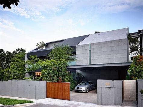 zen home design singapore zen inspired dwelling with a powerful modern architecture