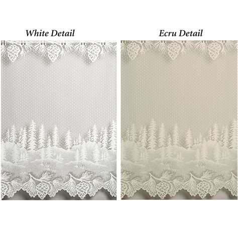 pine cone lace curtains pine cone lace shower curtain