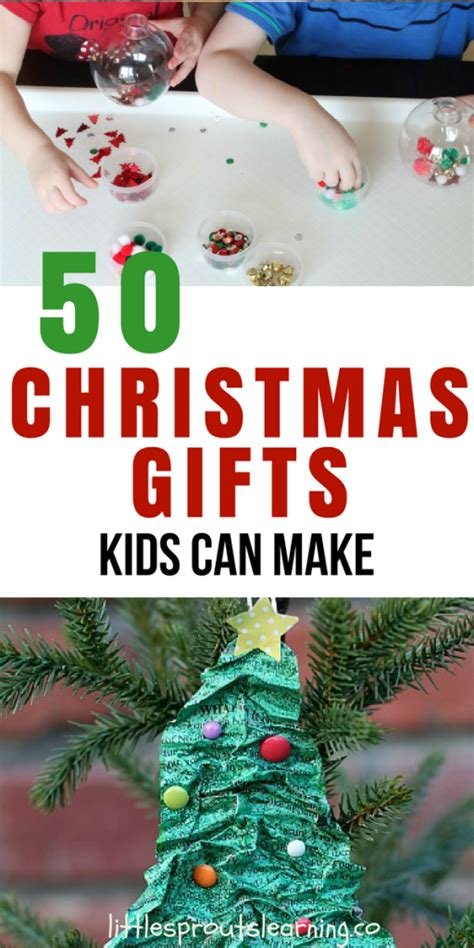 pinterest hand made christmas gifts children can make for parents 50 gifts can make
