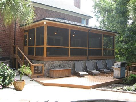 screened in deck plans cool covered patio ideas for your home homestylediary com