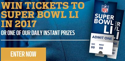Super Bowl 49 Sweepstakes - pepsi 2017 super bowl tickets instant win prizes sweepstakes