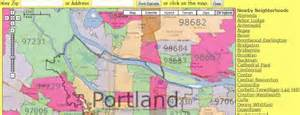 map of portland oregon zip codes portland zip code map and portland neighborhood map real