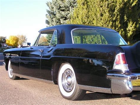 automobile air conditioning service 1992 lincoln continental mark vii auto manual sell used 1956 lincoln continental mark ii air conditioning black beauty in western usa united