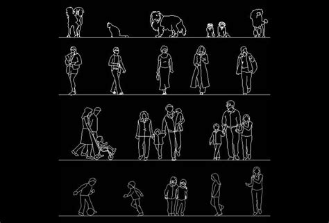 autocad people blocks free cad blocks and cad drawing download free autocad human figure library
